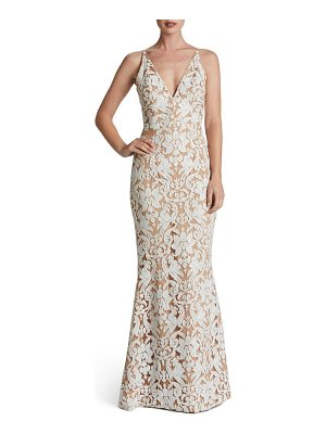 Dress the Population karen mermaid gown