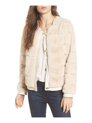 ELIZA J Faux Fur Jacket
