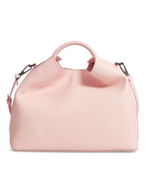 Elleme raisin leather handbag