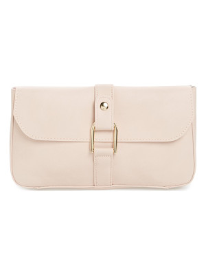 EMPERIA Faux Leather Lock Clutch
