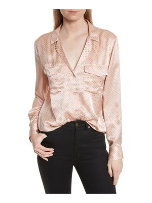 EQUIPMENT Ansley Dot Silk Shirt