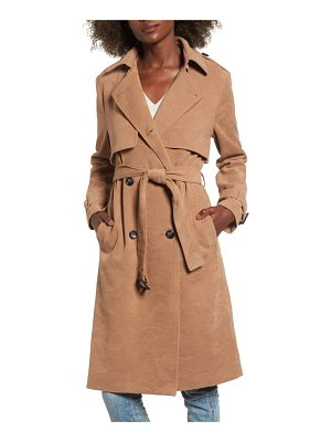 EVIDNT Double-Breasted Trench Coat