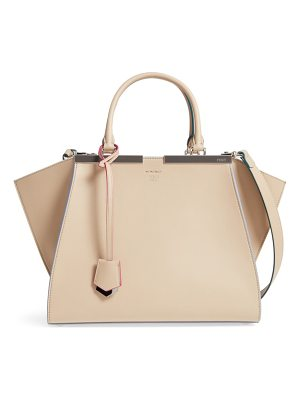 Fendi 3jours leather shopper