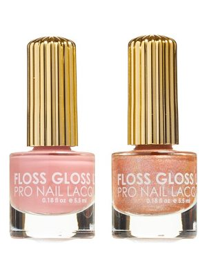 Floss Gloss lipliner & disco dust set of 2 nail lacquers