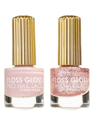 Floss Gloss the pink nugget & palazzo pleasures set of 2 nail lacquers