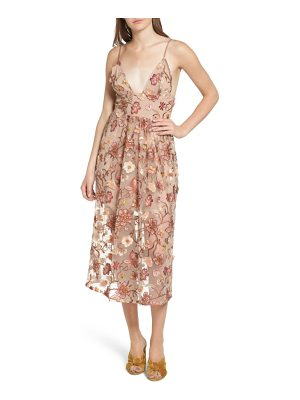 FOR LOVE & LEMONS Botanic Midi Dress