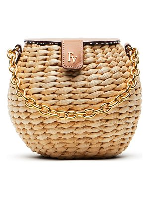 FRANCES VALENTINE Mini Woven Bucket Bag