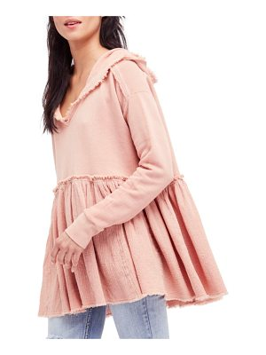 Free People summer dreams hooded pullover