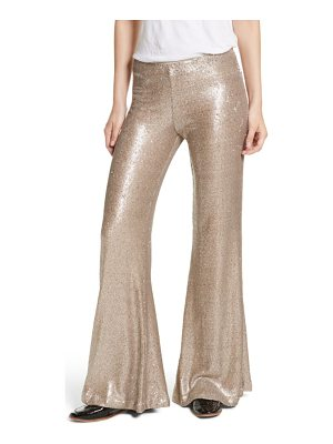 Free People the minx sequin flare pants