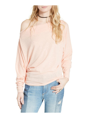 Free People valencia off the shoulder pullover