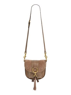 Frye small ilana harness leather saddle bag