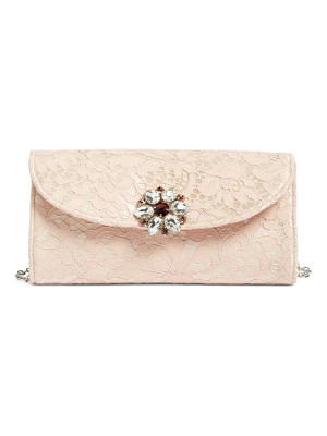 GLINT Jeweled Envelope Clutch