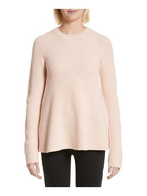 Grey Jason Wu wool trapeze sweater