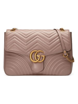 Gucci gg large marmont 2.0 matelasse leather shoulder bag