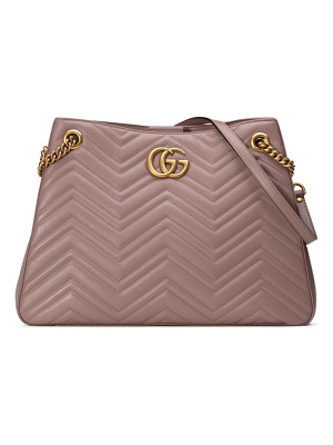 GUCCI Gg Marmont Matelasse Leather Shoulder Bag