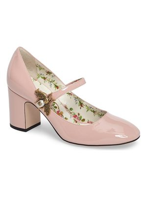 Gucci lois bee mary jane pump