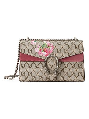 GUCCI Small Dionysus Floral Gg Supreme Canvas Shoulder Bag