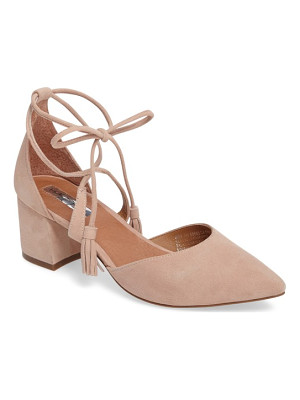 HALOGENR Halogen Iris Lace-Up D'Orsay Pump