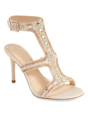 IMAGINE BY VINCE CAMUTO Imagine Vince Camuto 'Price' Beaded T-Strap Sandal