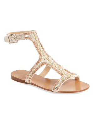 IMAGINE BY VINCE CAMUTO Imagine Vince Camuto 'Reid' Embellished T-Strap Flat Sandal