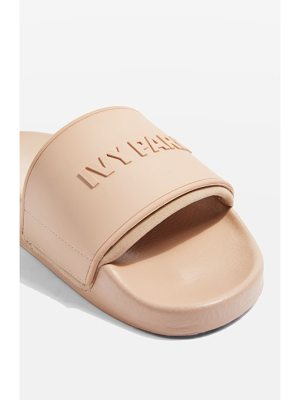 IVY PARK embossed neoprene lined slide sandal