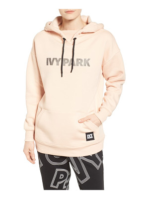 IVY PARK silicone logo hoodie