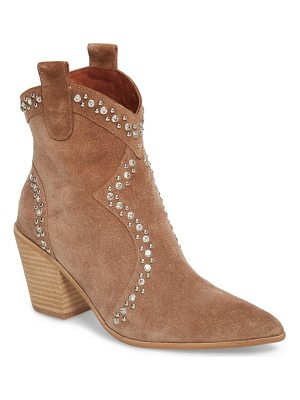 JEFFREY CAMPBELL Nightwing Crystal Stud Bootie