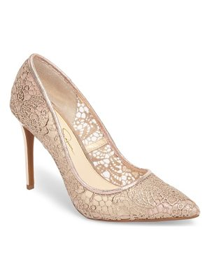 JESSICA SIMPSON Praylee2 Paisley Lace Pump