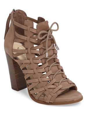 JESSICA SIMPSON Riana Woven Leather Cage Sandal