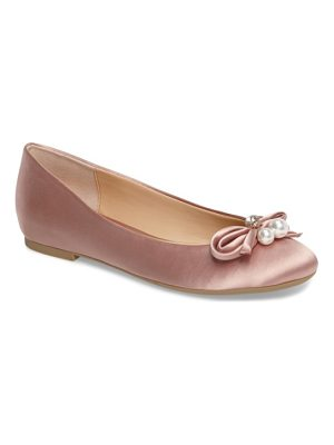 JEWEL BADGLEY MISCHKA Adeline Bow Flat