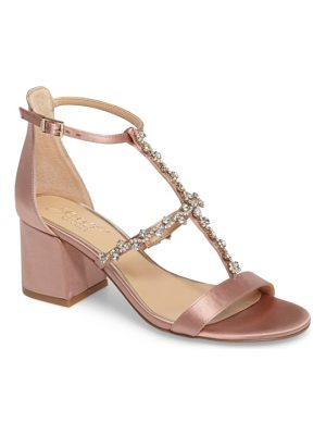 JEWEL BADGLEY MISCHKA Alamea Block Heel Sandal