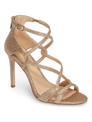 JEWEL BADGLEY MISCHKA Aliza Strappy Glitter Sandal