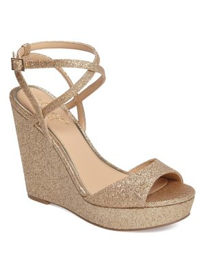 JEWEL BADGLEY MISCHKA Ambrosia Wedge Sandal