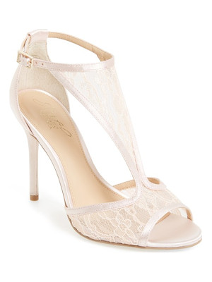 JEWEL BADGLEY MISCHKA horizon t-strap mesh sandal
