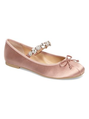 JEWEL BADGLEY MISCHKA jewel by badgley mischka terrie mary jane flat