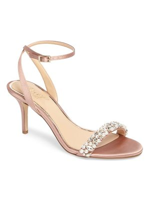 JEWEL BADGLEY MISCHKA Jewel By Badgley Mischka Theodora Ankle Strap Sandal