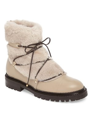 Jimmy Choo darcie genuine shearling boot