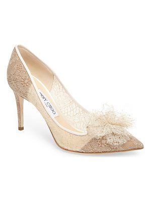 JIMMY CHOO Estelle Chantilly Tulle Pump