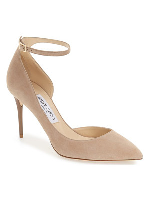 JIMMY CHOO Jimmy Choo 'Lucy' Half D'Orsay Pointy Toe Pump