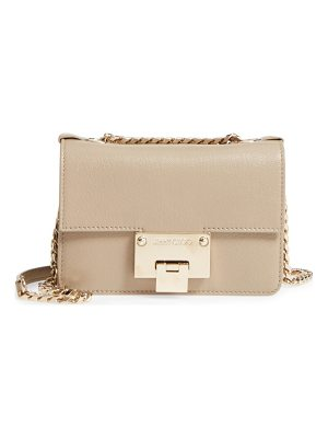 Jimmy Choo mini rebel leather crossbody bag