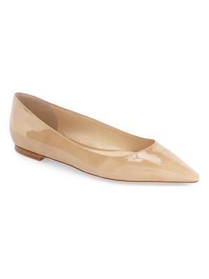 JIMMY CHOO 'Romy' Pointy Toe Flat