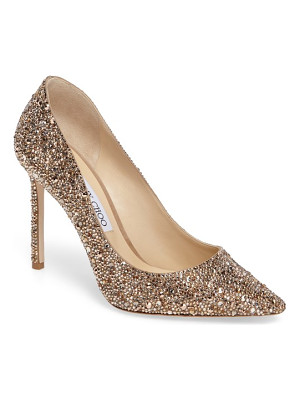 JIMMY CHOO Jimmy Choo Crystal Romy Pump