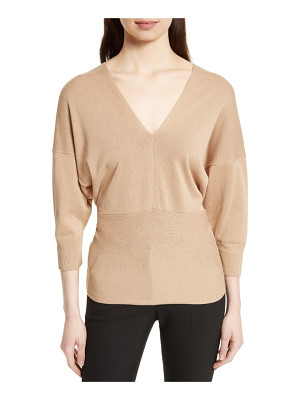 JOSEPH Tie Detail V-Neck Sweater