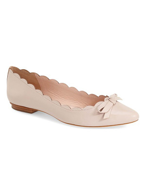 KATE SPADE NEW YORK 'Eleni' Pointy Toe Ballet Flat