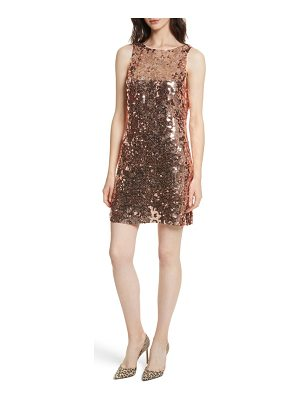 KATE SPADE NEW YORK Sequin Bow Minidress