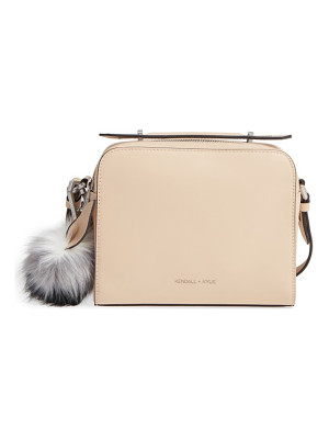 KENDALL + KYLIE lucy leather crossbody bag