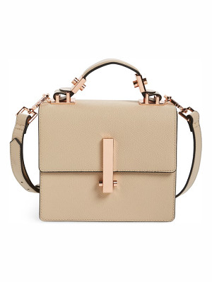 KENDALL + KYLIE Mini Minato Leather Top Handle Satchel