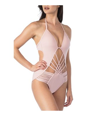 KENNETH COLE Push-Up One-Piece Swimsuit