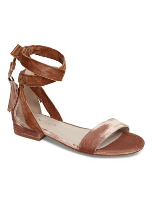 KENNETH COLE Valen Tassel Lace-Up Sandal