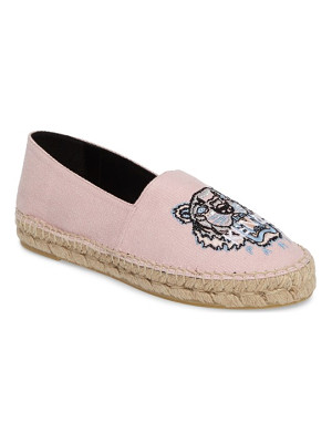 KENZO Tiger Logo Embroidered Espadrille